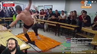 Jahrein   Liseli Türklerin SmackDown Kurgusunu İzliyor