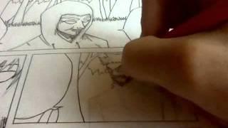 Drawing: Les Aventures de SakE (página BD)