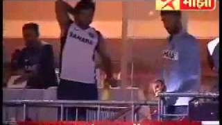 Indian team dressing room comedy.flv