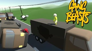 Gang Beasts - Truck Demolition [Father and Son Gameplay]