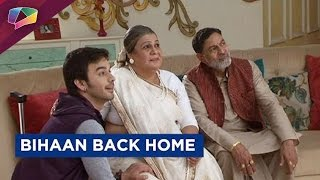 Thapki and Bihaan back home