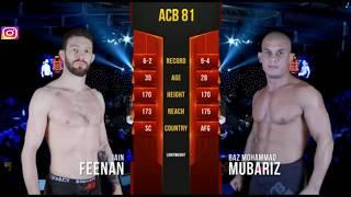 Baz Mohammad Mubariz vs  Iain Feenan ( dubai ) highlights 2018