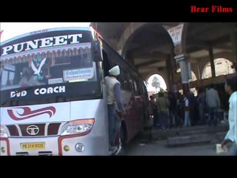 Moga (Punjab) Bus Stand.