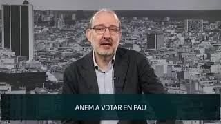 Antoni Bassas, el diumenge #Votarem #SensePor i #NingúEnsAturarà