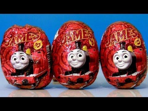 Surprise Eggs Thomas & Friends Ovos de Chocolate Surpresa do Thomas e Seus Amigos Review