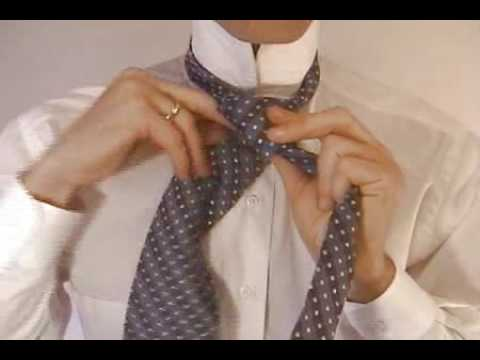 Double Windsor Knot, How to Tie the Double Windsor Necktie Knot