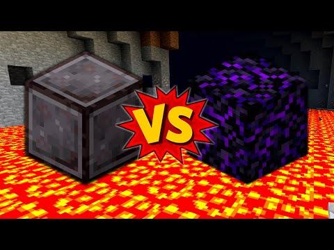Netherite vs Obsidian; Which is Best
