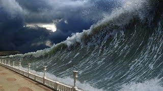 Onda Gigante - Catástrofe Natural - O fim está próximo.