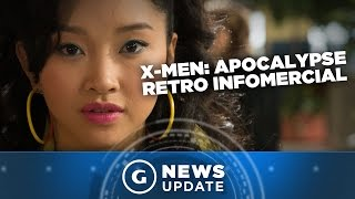 Latest X-Men: Apocalypse Retro Video Is a Trip Back to the 1980s - GS News Update
