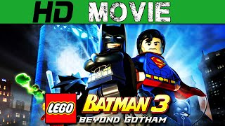Lego Batman 3 Beyond Gotham Full Movie + All Cutscenes - Lego Batman 3 Beyond Gotham Movie