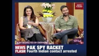 In Da Club : Ajay Devgn & Kajol Talks Exclusive On Shivaay, Their Story & Many More
