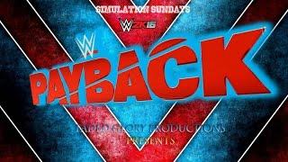 WWE 2K16: PayBack 2016 (IC Title   The Miz vs Cesaro)