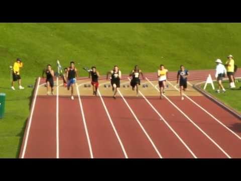 2011 Punahou Relays Trials - Hawaii's Fastest Human Heat 2