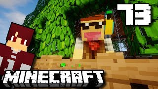 RUMAH POHON KEREN BUAT BURUNG BEO !!! - Minecraft Survival Indonesia #73