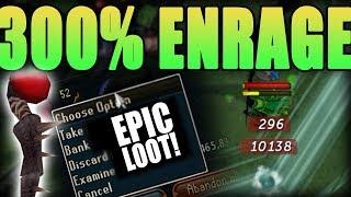 300% ENRAGE Kill w/ Magic + EPIC DROP! | RuneScape 3: Channel Update