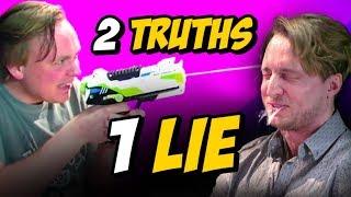 2 TRUTHS, 1 LIE w/ GUS JOHNSON