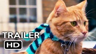 A Street Cat Named Bob Official Trailer #1 (2016) Luke Treadaway, Joanne Froggatt Movie HD