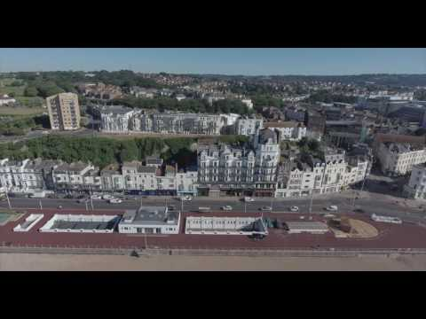 Hastings East Sussex From the Air