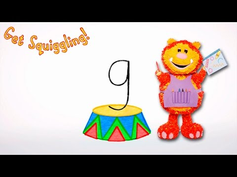 Get Squiggling Letters | Letter G