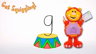 Get Squiggling Letters   Letter G