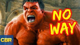 10 Things Marvel Wants You To Know About RED HULK!
