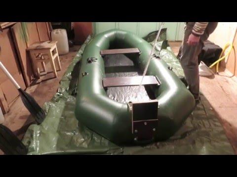 как правильно сложить лодку пвх аква оптима