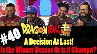 Dragon Ball Super ENGLISH DUB - Episode 40- Group Reaction