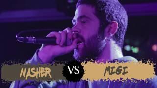 MIGI VS NASHER Semifinal GOLD BATTLE Regional Madrid 2016 OFICIAL