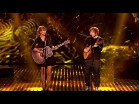 Taylor Swift & Ed Sheeran Everything Has Changed live on BGT HD