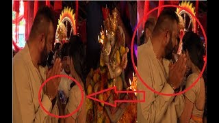 Sanjay Dutt Looks ANGRY With Manyata During Ganesh Aarti | Watch Video!