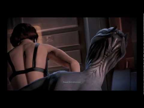 Mass Effect 3: Romance between female Shepard and Liara