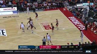 First Half Highlights: Bucknell at Ohio State | Big Ten Basketball