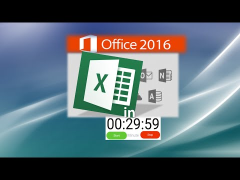 Excel Tutorial Learn Excel in 30 Minutes Just Right for your New Job Application