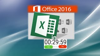 Excel Tutorial: Learn Excel in 30 Minutes - Just Right for your New Job Application