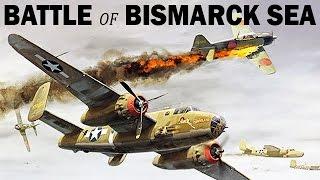 Battle of the Bismarck Sea | US & Australian Air Raid on Japanese Ships | 1943 | WW2 Newsreel
