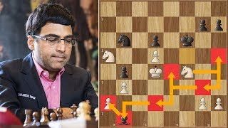 The Monster Knight Move | Anand vs Caruana  | Your Next Move (Rapid) (2018)