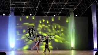 Ecuador Salsa Congress 2017 Jovanny Herrera - Luisa Mesa Parejas Salsa Cabaret Pro