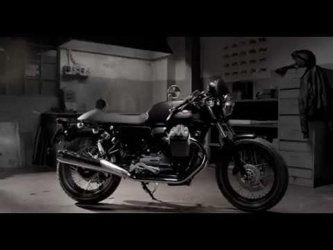 Moto Guzzi Garage - Dark Rider style