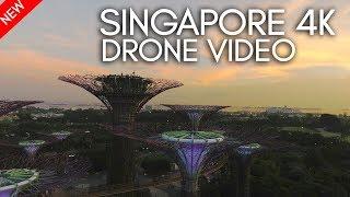 Singapore 4k Drone Video