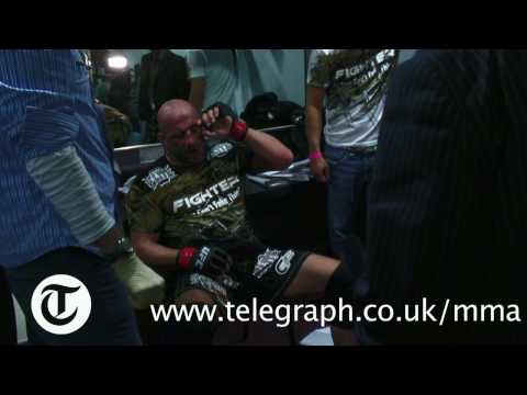 Mark Coleman Rages Backstage at UFC 93