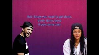 Rihanna - Work ft. Drake Lyrics