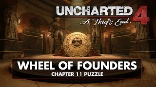 Uncharted 4 • Chapter 11 Puzzle Solution • Wheel of Founders