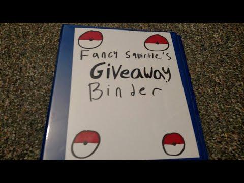 Pokemon Card Giveaway Binder!