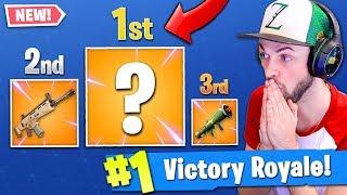 The *NEW* BEST GUN in Fortnite: Battle Royale! (IT