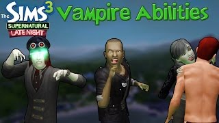 The Sims 3 Late Night & Supernatural: Vampire Abilities