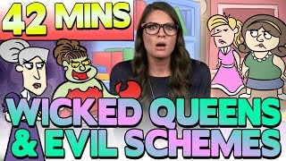 Best of Evil Queens at Cool School! - Compilation | Snow White, Beauty and the Beast & More!