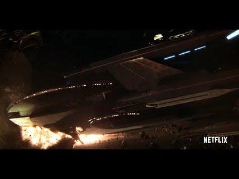 Star Trek Discovery Klingon Ship Crash Into USS Europa Admiral Ship Self Destruct