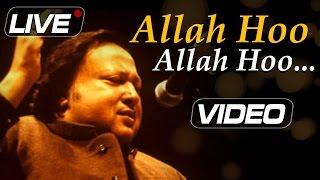 Allah Hoo Allah Hoo - Nusrat Fateh Ali Khan Live | Top Pakistani Sufi Songs