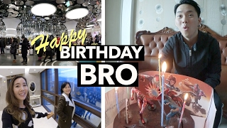 My Brother's Birthday in Dongdaemun + Too Cool For School Unboxing