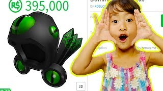 BUYING FANS THEIR DREAM ROBLOX ITEMS *DOMINUS FREAK OUT!*